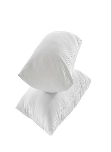 Komfort Home Dolgulu Silikonize Yastık 600 gr 50x70 CM (2 Adet) Beyaz